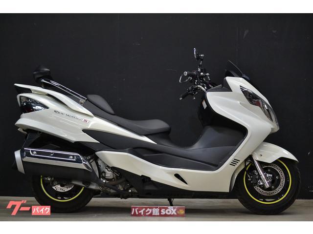 スズキ スカイウェイブ250 タイプS 2012年モデル バックレストの画像(大阪府