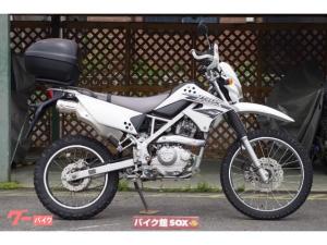 カワサキ/KLX125 2016モデル アーマーガード リアボックス装備