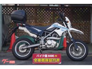 カワサキ/Dトラッカー125 2011モデル リアボックス装備
