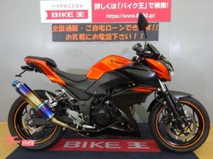 カワサキ/Z250 2014モデル BMS-Rスリップオンマフラー装備 フェンダーレスカスタム