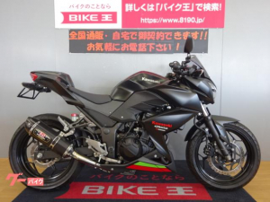 カワサキ/Z250 2013年モデル JMCA対応ヨシムラスリップオン MRAスクリーン ナポレオンミラー