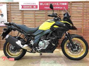 スズキ/V-ストローム650XT ABS サイドガード ETC2.0装備