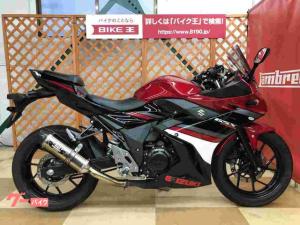 スズキ/GSX250R ヨシムラスリップオンマフラー プーチ製スクリーン