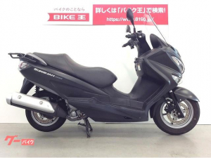 スズキ/バーグマン200 グリップヒーター/リアキャリア装備