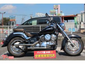 ヤマハ/ドラッグスター400クラシック デイトナ製スラッシュカット サイドバック