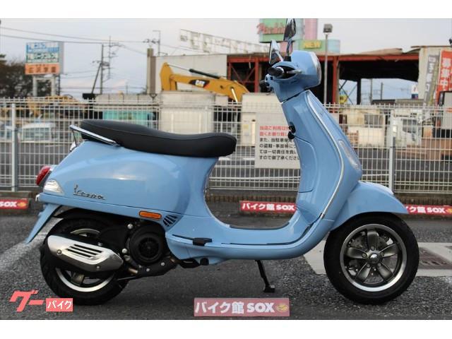 VESPA VXL125 インジェクション LEDヘッドライト搭載 国内未発売モデルの画像(茨城県