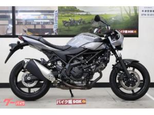 スズキ/SV650X 2018年モデル KIJIMA製ヘルメットロック
