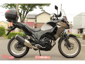 カワサキ/VERSYSーX 250 2017年モデル GIVIトップケース付き