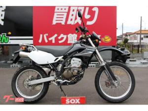 カワサキ/KLX250 リヤキャリア付
