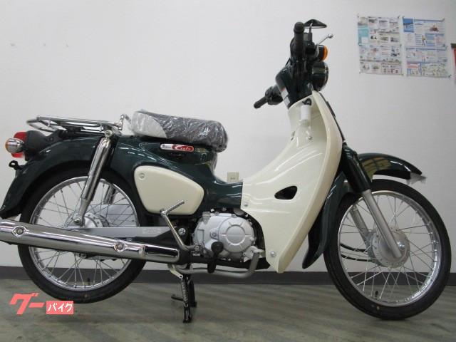 ホンダ スーパーカブ50 LEDライト 国内生産新車 現行モデルの画像(東京都
