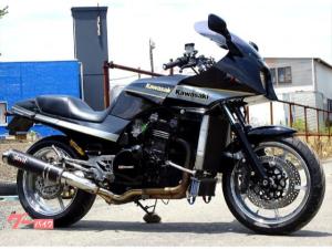カワサキ/GPZ900R セミファイナル デビルフルエキ オーリンズリアサス