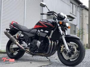 スズキ/GSX1400 ヨシムラチタンサイクロンカーボンサイレンサー  ヨシムラ製タンデムステップ