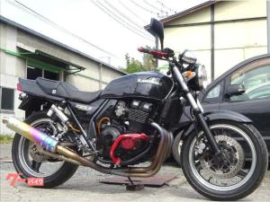 カワサキ/ZRX400-II モリワキフルエキゾーストマフラー  タックロールシート
