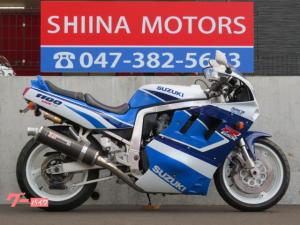 スズキ/GSX-R1100 51172 ヨシムラカーボンマフラー オーリンズリアサスペンション フェンダーレス GV73A