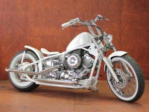 ヤマハ/ドラッグスター400 ホワイトフルカスタムcomp