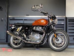 ROYAL ENFIELD/INT650 スタンダード 空油冷並列2気筒エンジン オレンジクラッシュ
