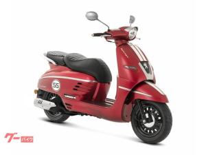 PEUGEOT/ジャンゴ150 スポーツ ABS標準装備 サテンチェリーレッド