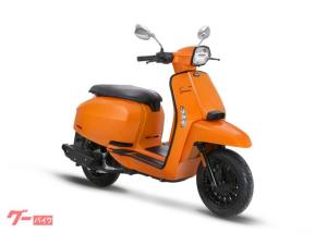 LAMBRETTA/V200 Special Flex Fender models ボディカラー オレンジ ブラックシート