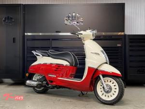 PEUGEOT/ジャンゴ125 エバージョン 2020年モデル ドラゴンレッド