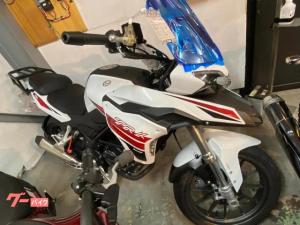 BENELLI/TRK251 正規取扱新車 ホワイト ツーリングモデル