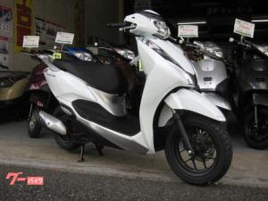 ホンダ/リード125ツートン 現行カラ- 日本仕様 新車