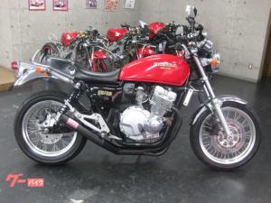 ホンダ/CB400Four モリワキショート管付き 赤黒 NC36