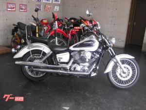 ヤマハ/ドラッグスター250 白紫 2001y VG02J