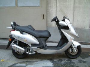 KYMCO/グランドディンク125X 日本正規仕様モデル