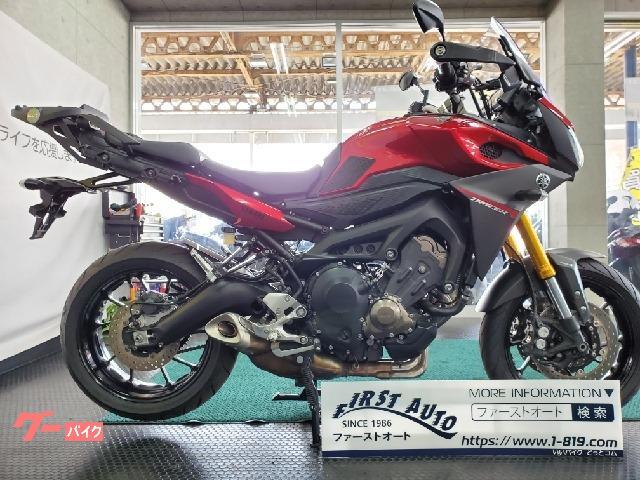 ヤマハ トレイサー900(MT-09トレイサー) リアキャリア 前後タイヤ新品の画像(京都府