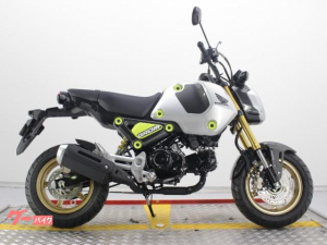 ホンダ/グロム タイHONDA 2021年 ABSモデル シルバーカラー