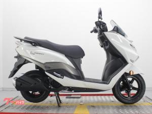 スズキ/バーグマン125最新インジェクションモデル ホワイトカラー