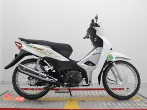 ホンダ/WAVEアルファ110 ベトナムHONDA キャブレター仕様 ホワイトカラー