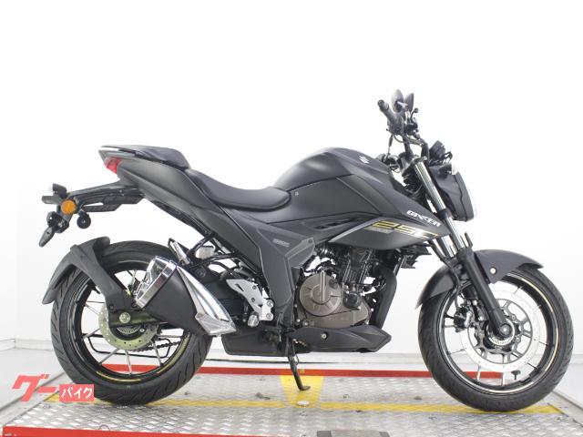スズキ GIXXER 250 ABS付き インドSUZUKI 2021マットブラックの画像(兵庫県