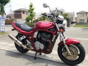 スズキ/GSF1200 アクラボ付 リヤフェンダーレス