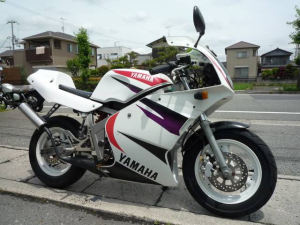 ヤマハ/TZM50R セル付 社外シートカウル