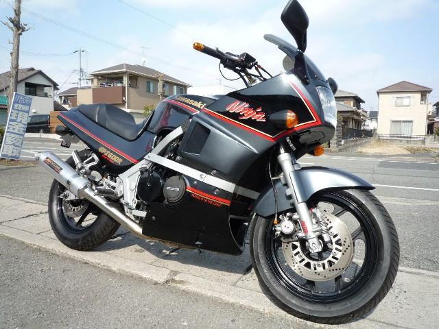カワサキ GPZ600R ヨシムラマフラー アップハンドル ETCの画像(兵庫県