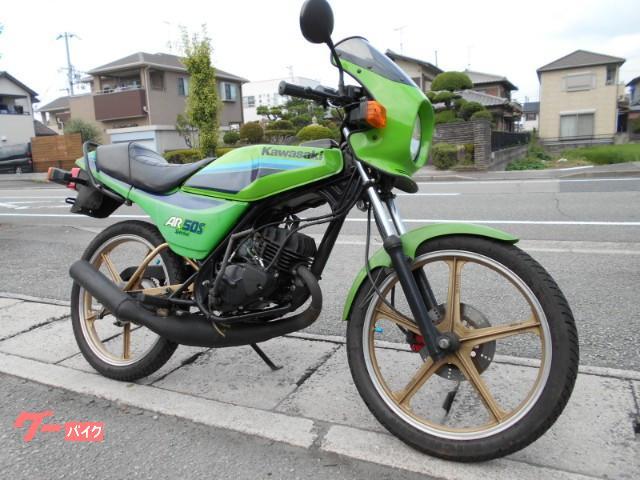 カワサキ AR50S スペシャル 7.2馬力 84年モデル セミオートサイドスタンド付の画像(兵庫県