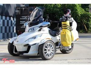 BRP/can-am SPYDER RT LIMITED ゴルフバッグキャリア搭載車