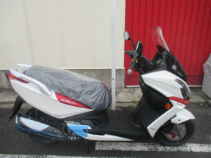 KYMCO/G-DINK250i ABS 最新モデル 正規輸入車輌