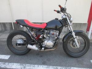 ホンダ/FTR223 スパトラマフラー ブラック 11177