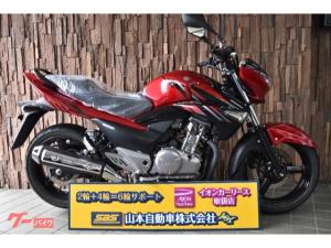 スズキ/GSR250スマホホルダー付き 最終型 赤黒