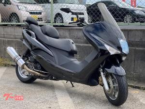 ヤマハ/マジェスティ125Fi バーハン 社外マフラー カスタムミラー