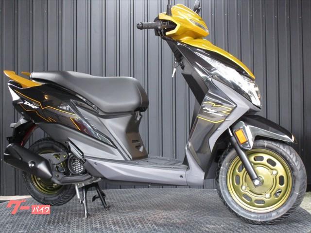 ホンダ Dio110 インポートモデル インジェクション ライトニングイエローの画像(大阪府