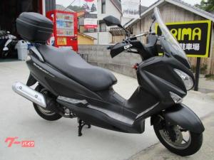 スズキ/バーグマン200 グリップヒーター ナックルバイザー