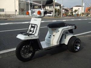 ホンダ/ジャイロXミニカー登録車