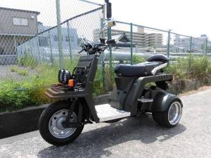 ホンダ/ジャイロX軽二輪トライク二人乗り登録車