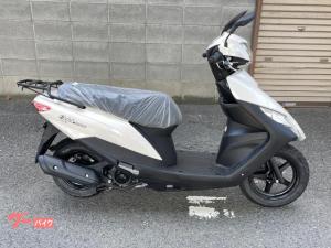 スズキ/アドレス125 新車 2020モデル フラットシート