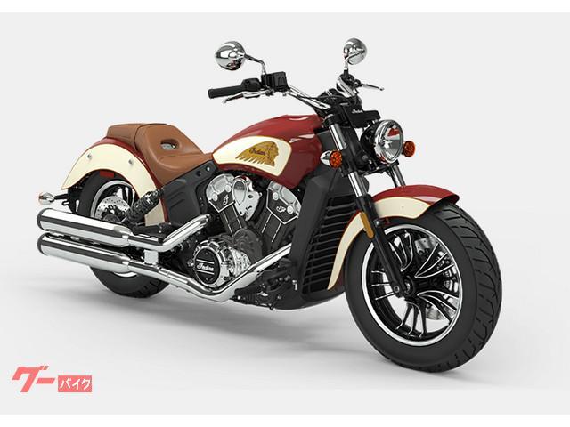 INDIAN スカウト 2020年モデル インディアンモーターサイクレッド・アイボリークリームの画像(兵庫県