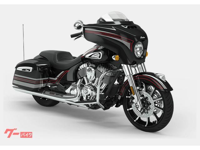 INDIAN チーフテン リミテッド 2020年モデル サンダーブラックパール・グラフィックの画像(兵庫県