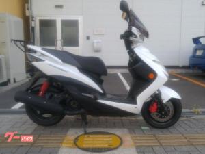 ヤマハ/シグナスX SR3型・リアキャリア・スクリーン付